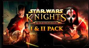 Star Wars: Knights of the Old Republic 1 + 2 - £3.19 at Fanatical