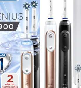 Oral B Genius 9900 rechargable Toothbrush Duo Pack £150 @ Boots