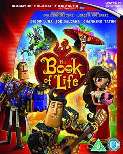 The Book of Life 3D & 2D Blu ray @ Zavvi £2.99 + possible £1.99 delivery. (Back in stock)
