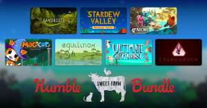 Humble Sweet Farm Bundle from 77p onwards (Games Includes Stardew Valley, Samorost 3,Ultimate Chicken Horse and more) @ Humble Bundle