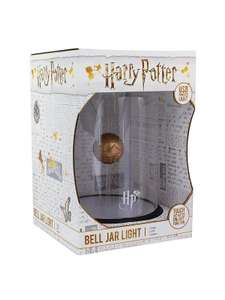 Harry potter bell jar golden snitch light - £4 Instore @ Sainsburys (Crayford)