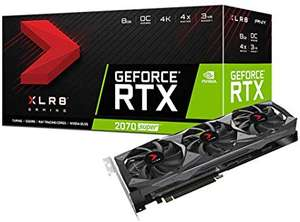 PNY XLR8 GeForce RTX 2070 SUPER Triple Fan Gaming Overclocked Edition - £412.63 Delivered @ Transparent