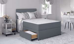 Single bed, mattress and headboard £78.75 with code delivered @ ijinteriors Ebay - Other sizes available.