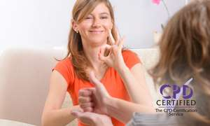 Certificate in British Sign Language Level 1 & 2 Online Course for £12.80 (with code) @ Groupon