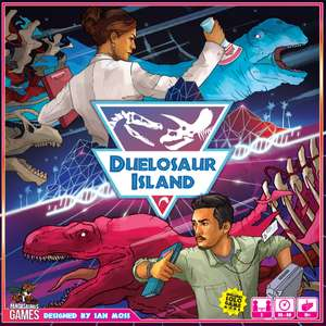 Duelosaur Island Board Game £22.03 @ Amazon (sold by Evergame and fulfilled by Amazon)