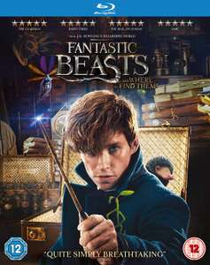 Fantastic Beasts and Where To Find Them [Blu-ray + Digital Download] £7.99 + £2.99 NP @ Amazon