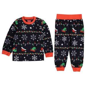 Star Christmas Family Pyjamas Infants January sale £1.50 £4.99 delivery @ Sports Direct