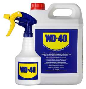 WD40D 44506 Cleaning Lubricant with Applicator, 5L - £20.99 delivered @ Amazon
