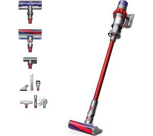 DYSON Cyclone V10 Total Clean Cordless Vacuum Cleaner - Red - £379 @ Currys PC World