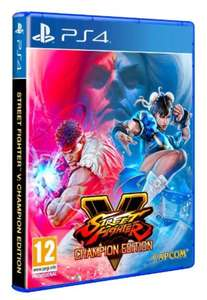 Street Fighter V Champions Edition [PS4] Pre order for £20.85 @ Shopto