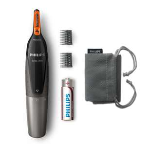 Philips Series 3000 Nose, Ear and Eyebrow Trimmer NT3160/15 - £10.00 @ Argos ( free click and collect ) 2 year guarantee