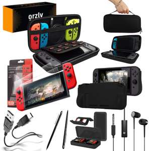 ORZLY® Switch Accessories Bundle Essentials Pack for Nintendo switch £14.99 (Prime) / £19.48 (nonPrime) Sold by Orzly & Fulfilled by Amazon.