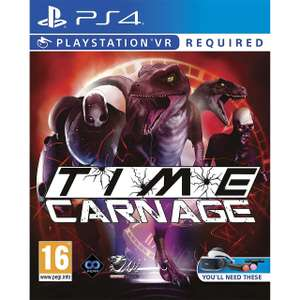 Time Carnage for PlayStation 4 VR now £9 delivered at AO.com