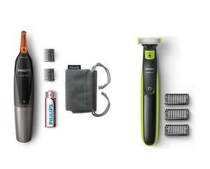 Philips Wet and Dry Oneblade Trim, Edge and Shave QP2520/25 + Philips Series 3000 Nose, Ear and Eyebrow Trimmer for £28.66 @ Argos