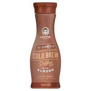 70p off any Califia Farms Cold Brew Coffee 750ml using code @ Tesco