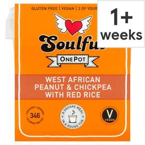 Soulful chickpea or Quinoa 380g £1 with code @ Tesco