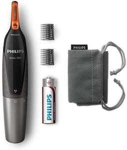 Philips Series 3000 Battery-Operated Nose, Ear & Eyebrow Trimmer - Showerproof £10 (Prime) / £14.49 (non Prime) at Amazon