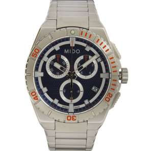 MIDO Silver Tone Chronograph Watch only £128 delivered @ TK Maxx