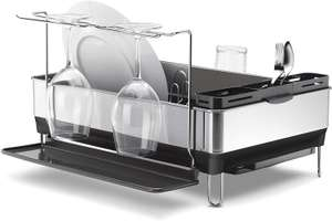 simplehuman Steel Dish Drainer and Glass Holder for £22.50 in-store @ John Lewis & Partners