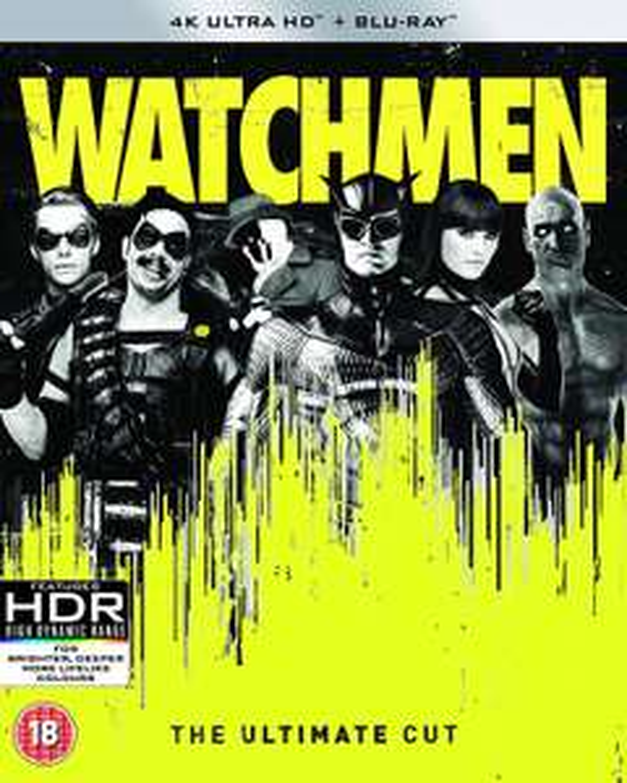 Watchmen Ultimate Cut 4k HDR - £4.99 @ iTunes Store