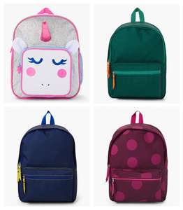 Kids Backpacks for £5 @ John Lewis & Partners (in-store or click & collect +£2)