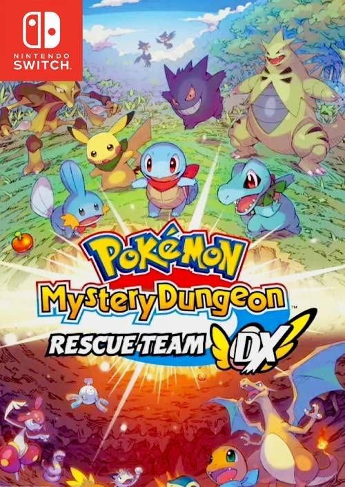 Pokémon Mystery Dungeon: Rescue Team DX Switch £40.69 CDKeys
