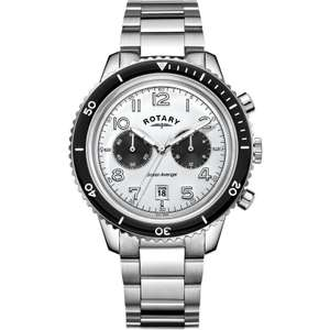 Rotary Ocean Avenger Chronograph watch GB05021/18 - £74.24 with code Watch Shop