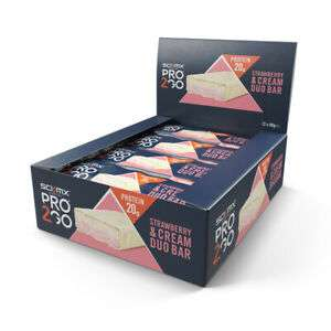 Multi-buy saving, 48 x SCI-MX Nutrition PRO 2GO Duo Bar, Strawberry and Cream, £14 delivered at sci-mx_official_store/ebay