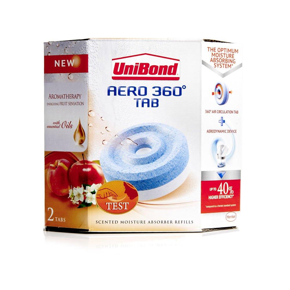 Unibond 450g Aero 360 Fruit Sensation Refill 2 Pack £4 Wilko instore or +£2 Order & Collect