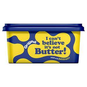 I Cant Believe Its Not Butter 500g - 75p Morrisons