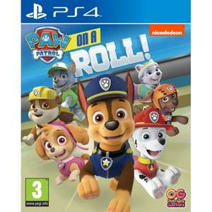 PAW PATROL: ON A ROLL PS4 now £16.95 delivered at The Game Collection