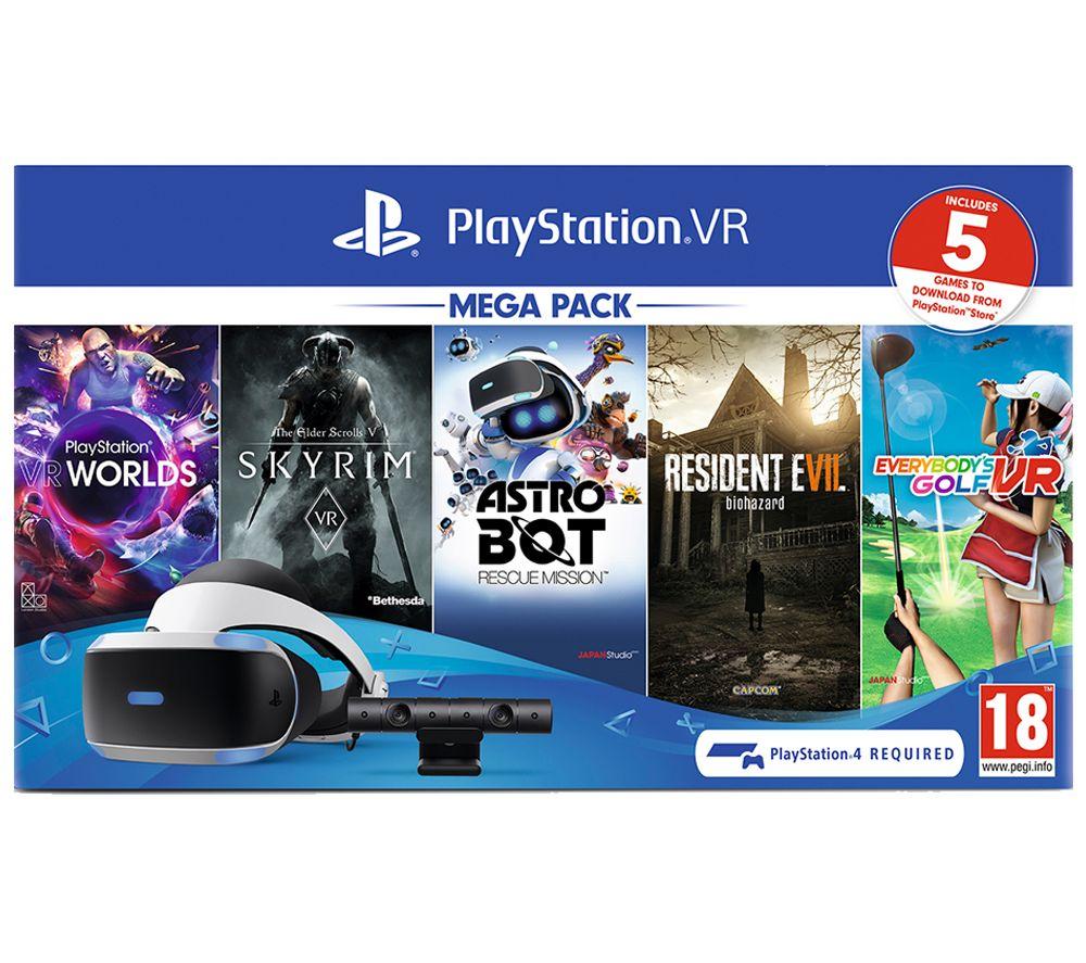 [PS4] Playstation VR (PSVR) Mega Pack inc Resident Evil 7, Astro Bot, Skyrim, Everybody's Golf + VR Worlds £214.85 delivered @ Simply Games