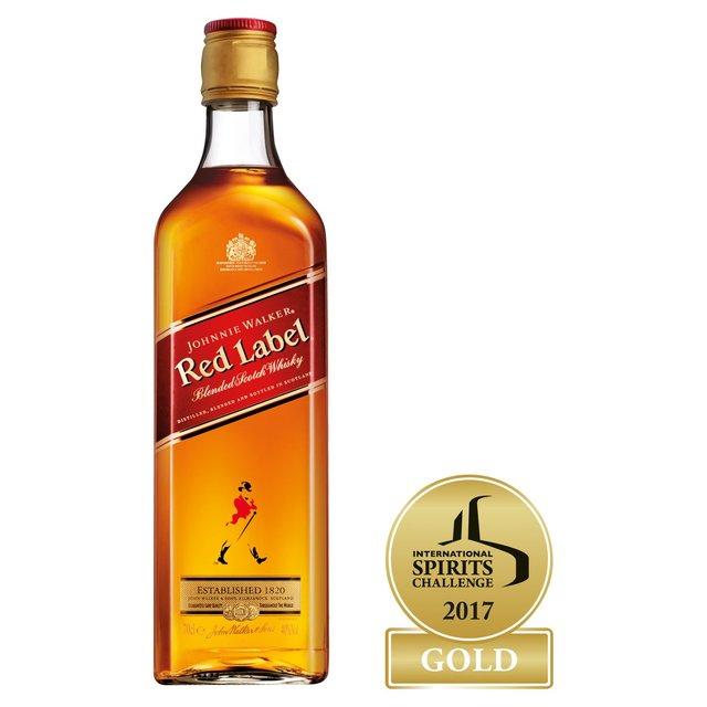 Johnnie Walker Red Whisky 70cl £16 Morrisons