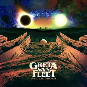 Greta Van Fleet - Anthem Of The Peaceful Army [VINYL] LP now £12.49 (Prime) + £2.99 (non Prime) at Amazon