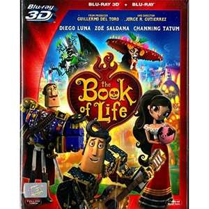 The book of life 3d blu ray+blu ray £4.24 @ 365games