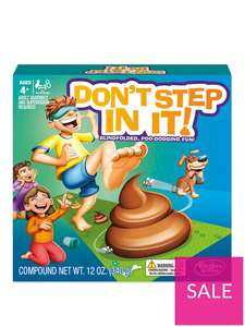 Hasbro Don't Step In It now £4.99 free click and collect at Very