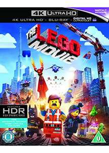 The Lego Movie (4K Ultra HD Blu-ray) £6.79 @ Base.com