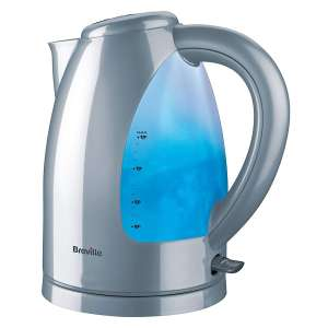 Breville Illuminated 3000W 1.7L Jug Kettle - Silver now £17.99 with code free click and collect at Robert Dyas