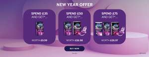 Durex New Year Offers - Spend £35 and get a free 'intense orgasmic gel' + others
