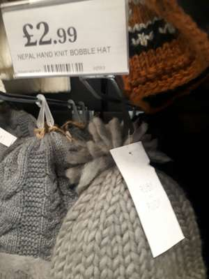 Ruby and Rudy hats £3 - Home bargains (Lockleaze)