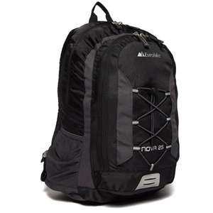 EUROHIKE Nova 25L Daysack Black/Green/Blue, £8 at Blacks with code (+£1 in store collection)