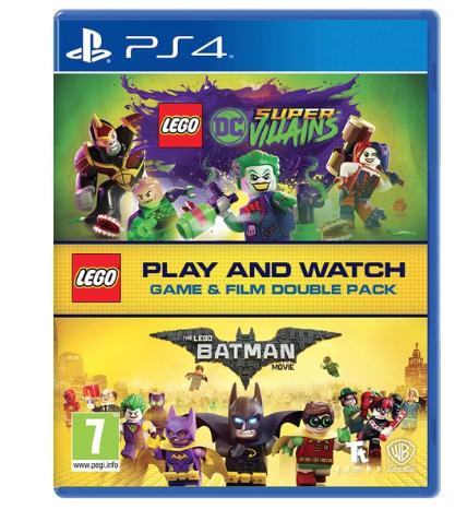 Lego DC super villains PS4 double with Lego Batman the Movie £14.99 @ Smyths toys