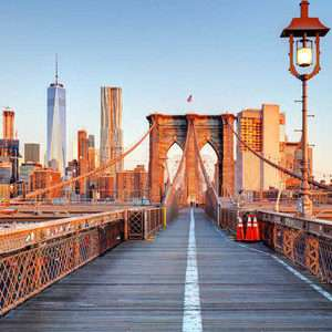 Direct British Airways return flight to New York (Departing LGW / March & May departures) £199.80 @ Skyscanner / TravelUp