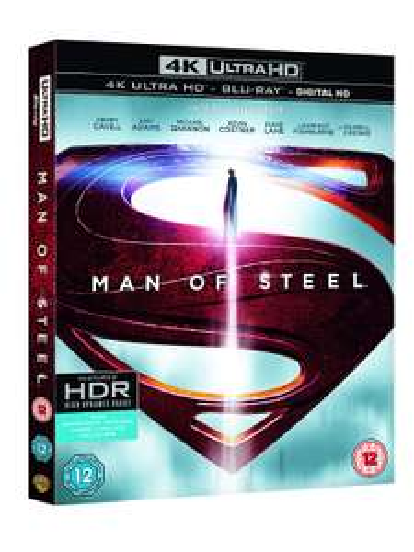 Man of Steel [Includes Digital Download] (4K Ultra HD Blu-ray) - £9.99 @ Amazon Prime (+£2.99 non-Prime)