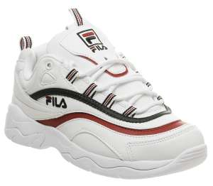 Fila Ray Trainers White Scyamore Red F - £38 @ Office (Free Click & Collect)