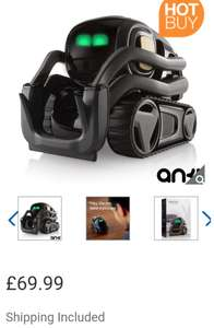 Anki Vector Robot + Space Habitat in Black/Grey (8+ Years) - £69.99 Delivered @ Costco