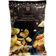 Hand Cooked Cornish Cheddar Cauliflower Cheese Crisps - 17p Instore @ Co-Op (York)