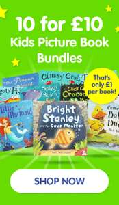 10 for £10 Kids Picture Book Bundles @ The Works (Free Click & Collect)