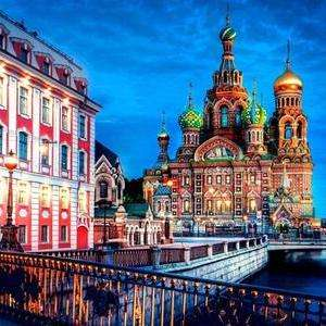 Return flights to St Petersburg from Luton now £37 (Departing 7th March - 11th March) Inc. taxes exc. checked baggage) at Momondo