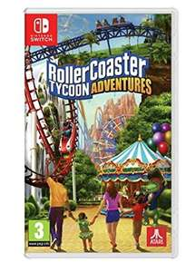 Rollercoaster Tycoon Nintendo Switch Game £19.49 @ Base